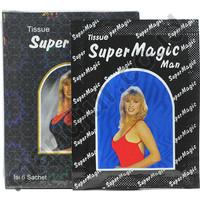 Tissue / Tisu Super Power Magic Man 1 kotak isi 6