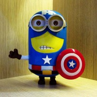 Minion Heroes Captain America
