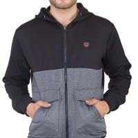Jual Inficlo SKM 181 Sweater PriaHitamAbu B3028 Murah