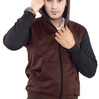 Jual Inficlo SGU 926 Sweater PriaCokelatHitam B3026 Murah