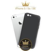 Jual iPhone 5 5G 5s SE  | Case Slim Fit Matte Black Softcase Murah