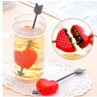 Jual Tea Bag Love Heart Strainer Penyaring Saringan Seduh Teh Hati Love Art Murah