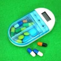 Jual Medicine Alarm Box Kotak Alarm Obat Kapsul Tablet Alat Kesehatan Sehat Murah