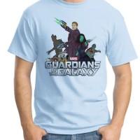 Jual Kaos Oblong Guardian Of The Galaxy 02 # Tshirt - Baju Distro Superhero Murah