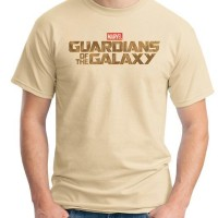 Jual Kaos Oblong Guardian Of The Galaxy Logo # Tshirt - Baju Distro Movie Murah