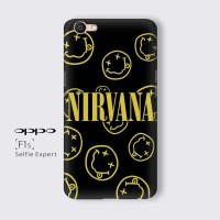 Casing Hard case OPPO F1S Custom Case Tema Band Nirvana