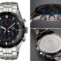Jam tangan pria PE049 Casio Edifice Rantai Silver ( Diesel  Harley Dav
