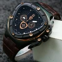 Jam tangan pria PE036 Torino Lamborghini ( Diesel  Harley Davidson AP