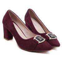 Sepatu High Heels Import Branded Wanita - LV 188-3