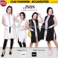 Jual Asos Long Blazer Baju Luaran Vest Rompi Panjang Wanita (COT107) Murah
