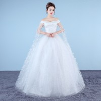 Jual 1706034 Putih Sabrina Gaun Pengantin Wedding Gown Wedding Dress Murah