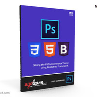 VIDEO TUTORIAL WEB DESAIN - SLICING PSD KE TEMPLATE ECOMMERCE BAHASA