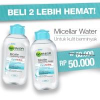 Jual Micellar Water Pure Active Special Price Kit MICELLARBLUE2+1JUN Murah