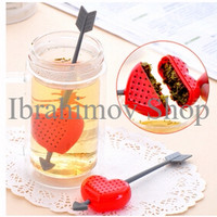 Jual New Tea Bag Love Heart Strainer Penyaring Saringan Seduh Teh Hati Love Murah