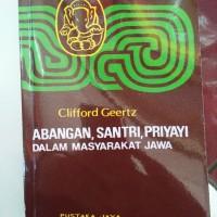 Agama Jawa Abangan, Santri, Priyayi Dalam Kebudayaan Jawa