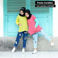 Jual PROMO Pocky Combine Sweater Murah