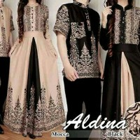 Harga queen black mocca baju muslim couple | antitipu.com