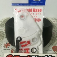 Baseplate/Base Plate/Holder Helm Arai RX7-RR5, Astro iq (SAI)
