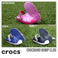 Crocs crocband bump clog (sepatu sandal anak)