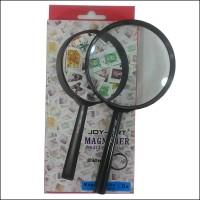 kaca pembesar lup magnifying glass 90mm joy art 90 mm hand lens kanta