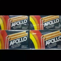 Apollo Coklat stik Wafer isi 30