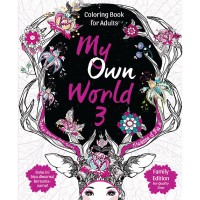 Jual My Own World 3 Coloring Book for Adults Murah