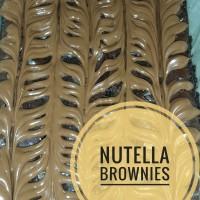 Jual pesanan Michael, 2 brownies nutella + 1 mix nutella almond Murah