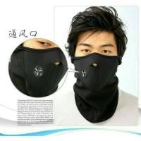 Masker Half Mask Ninja Ski Pollar Motor Supermask Filter Udara Murah