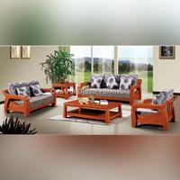Kursi & Meja Tamu Kayu Jati Model Solid Modern Furniture Asli Jepara