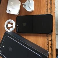 Jual iPhone 7 Plus 128gb Jet Black garansi resmi April 2018 Murah
