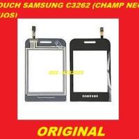 TOUCH TOUCHSCREEN SAMSUNG C3262 CHAMP NEO DUOS BLACK LAYAR ORI 702167