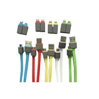 Kabel Data USB 2 in 1,  untuk Micro & Iphone 5