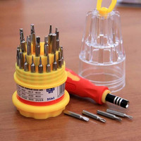 Jual DISKON Obeng Magnetic Multi Set 31 in 1 Mini Compact TERLENGKAP Murah