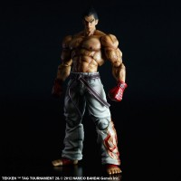 Action Figure Play Arts Kai Kazuya Mishima TEKKEN TAG TOURNAMENT