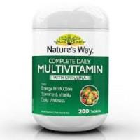 Nature's Way Multivitamin Plus Spirulina - 200 caps