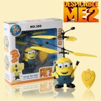 Jual Flying Minion terbang sensor doll boneka Limited Murah
