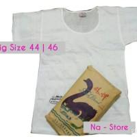 Jual Kaos Dalam Oblong Big Size   Jumbo 44   46 SWAN BRAND Murah