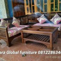 Jual kursi tamu sudut jari (lemari,nakas,bufet,kursi makan,meja makan) Murah