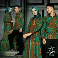 harga Baju Batik Couple Sarimbit Muslim Seragam Pesta Hijab Terbaru Modern Tokopedia.com
