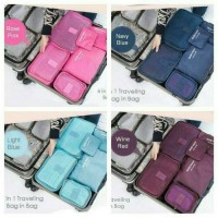 Jual TRAVEL SEASON ORGANIZE TRAVEL BAG 6 in 1 LAUNDRY SECRET POUCH Murah