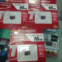 Jual MEMORY TRANSCEND MICRO SD 16GB CLASS 10 60MB/S Murah