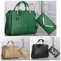 Harga tas import fashion korea branded 2in1 murah from batam | Pembandingharga.com