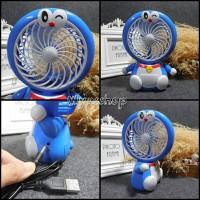 Jual Kipas angin portable mini fan karakter Doraemon & Hello kitty Murah