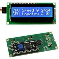 LCD 16x2 Biru Blue 1602 SPI I2C Backpack