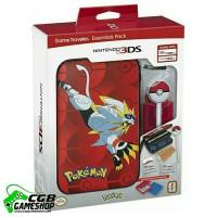 Jual 3DS/XL Pokemon Sun & Moon Starter Kit Solgaleo with PokeBall Stylus Murah