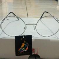 Jual kacamata korea murah kacamata bulat putih Murah