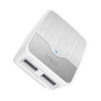 Jual UNEED DUAL USB WALL 2.A FAST CHARGER Murah