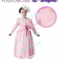 Jual Dress GW import Pita Peach Murah