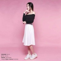 Jual WIDE PLEATED FLARE SKIRT Murah