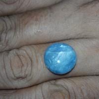 Jual 10.52 CT Natural Blue Sapphire  Round Star (Unheated) Mogok, Birma Murah